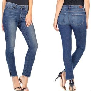 Paige Hoxton Ankle Sinclair Skinny Jeans